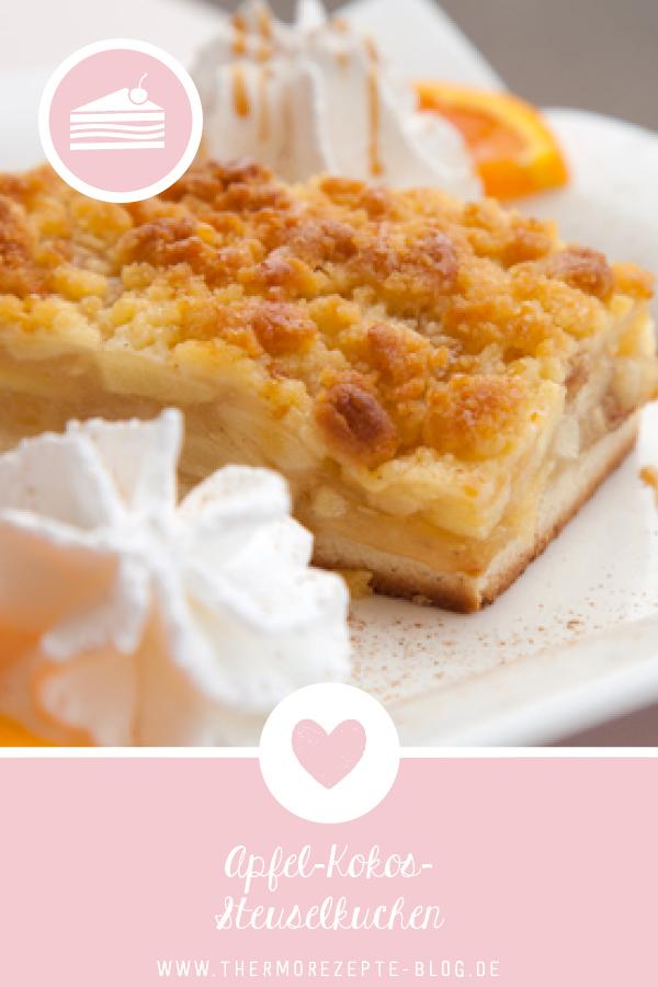 Apfel Kokos Streuselkuchen Kuchen Aus Dem Thermomix