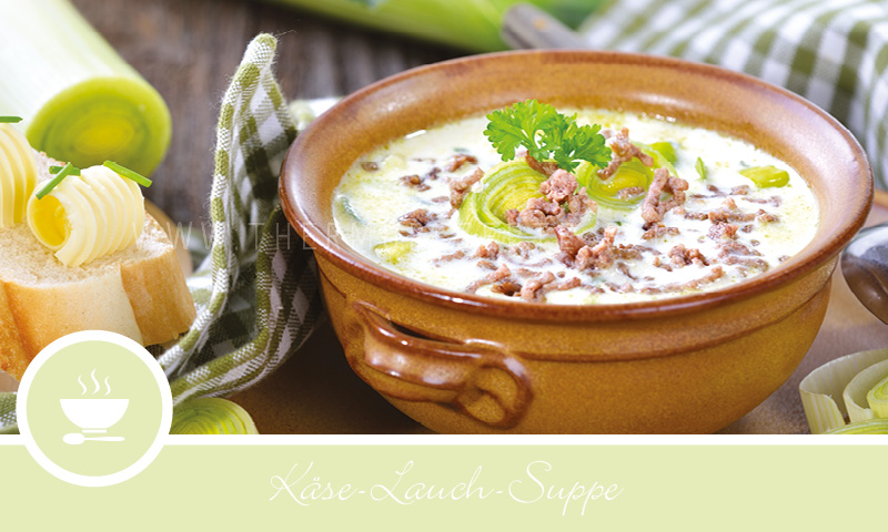 Rezept Käse Lauch Suppe