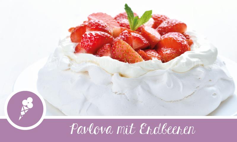 Pavlova Rezept Für Den Thermomix Pavlova Mit Erdbeeren