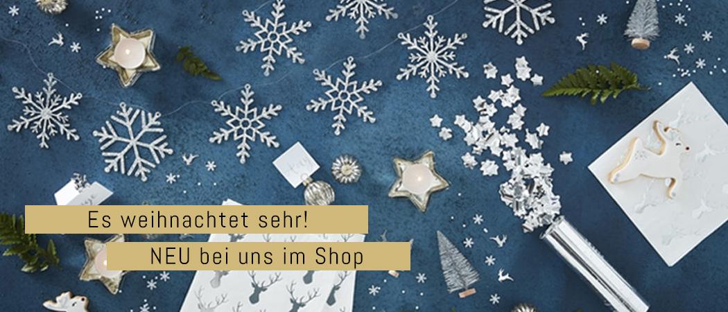 Weihnachstsdeko und Zubehör im Online Shop
