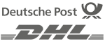 DHL und Post Logo