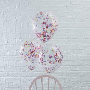 Bunte Konfetti Luftballons