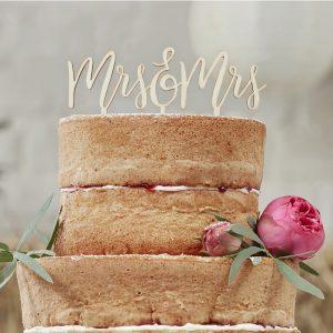 Cake Topper Vintage Hochzeit