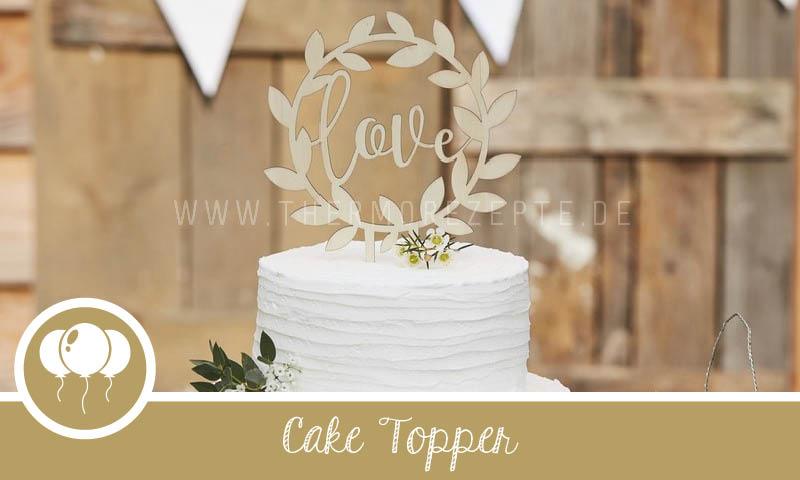 Cake Topper Hochzeitstorte
