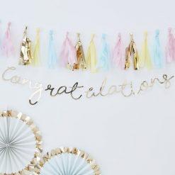 Gratulations Girlande