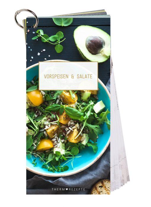 Deckblatt Vorspeisen und Salate