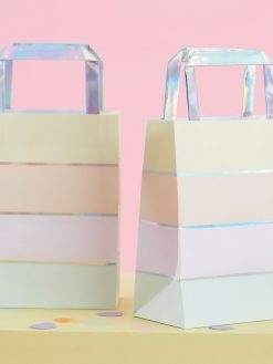 Geschenktaschen in Pastell