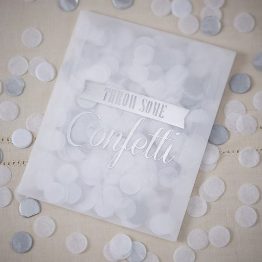 Konfetti für Hochzeit