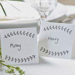 Tischkarten