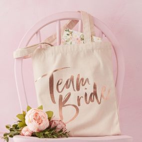 Jute Tasche Team Bride