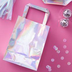 Geschenktaschen in Regenbogenfarben