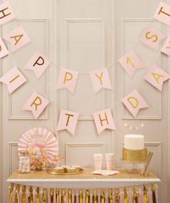 Geburtstagsgirlande Erster Geburtstag