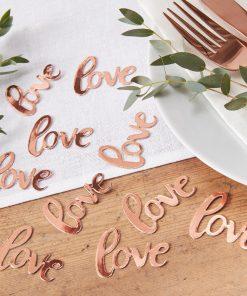 Tischkonfetti Love