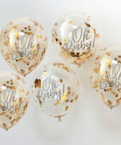 Luftballon Babyparty