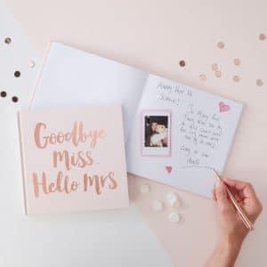 Gute Wünsche Buch für die Braut