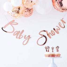 Girlande Babyparty