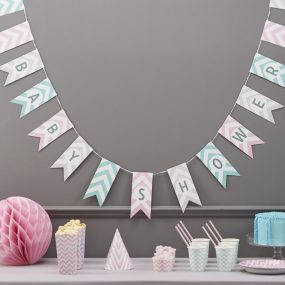 Baby Shower Girlande