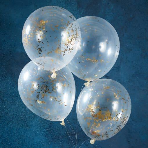 Glitterluftballons