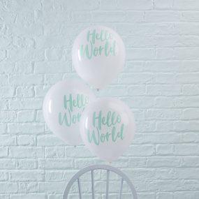 Luftballon Hello World