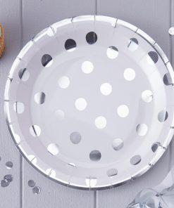 Papierteller Polka Dots