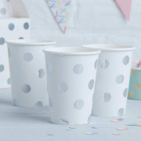 Papierbecher Polka Dots