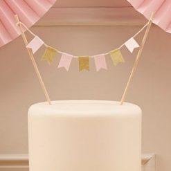 Cake Topper Wimpelkette