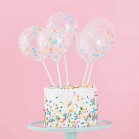 Cake Topper Luftballon