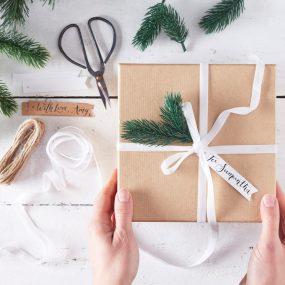 Geschenkverpackung Weihnachten Set