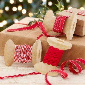 Geschenkband Weihnachten