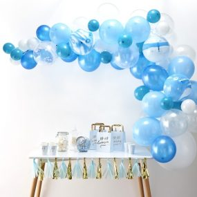 Ballon Bogen blau