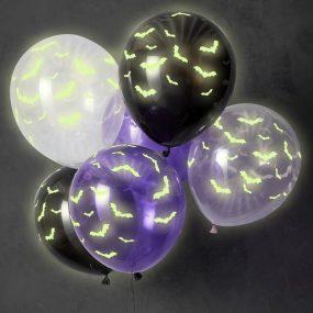 Leuchtende Halloween Luftballons